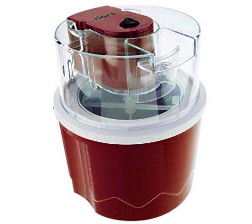 Deni Ice Cream Maker 15 qt Automatic Ice Cream Dessert Maker Red