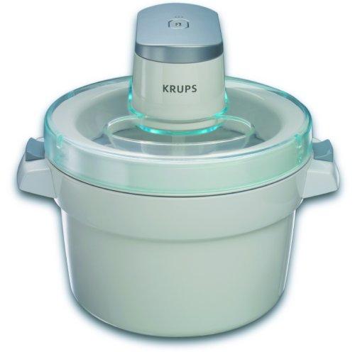 KRUPS GVS142 Automatic Ice-Cream Maker white