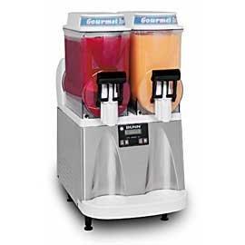 BUNN 340000012 Ultra-2 Gourmet Ice Frozen Drink Machine with Flat Lid