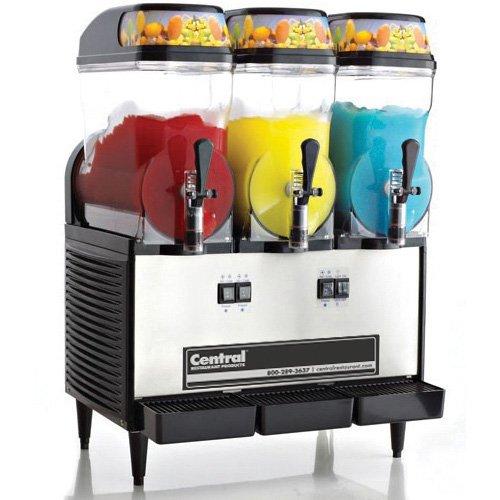 Central Exclusive OFS30-CR Frozen Drink Machine - 3 Bowls 24Wx18-12Dx33-14H