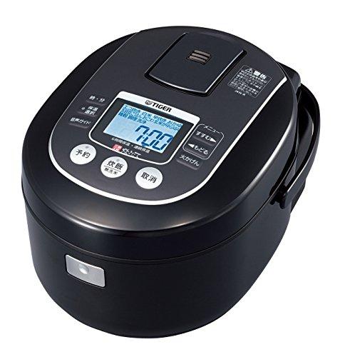TIGER IH rice cooker cooked 55 Go cook JKN-R100-K black