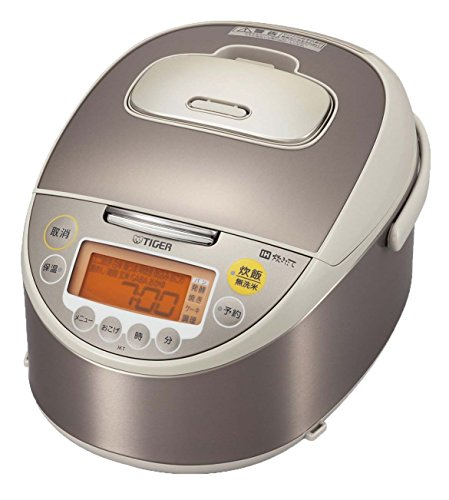 TIGER IH rice cooker cooked 55 Go cook JKT-W100-CC champagne beige