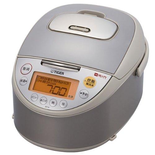 Tiger IH rice cooker 55 Go cook beige TIGER cooked JKT-B100-C