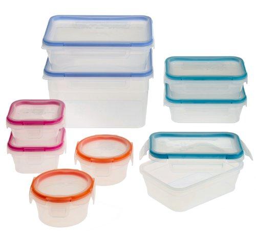 Snapware 18-Piece Total Solution Food Storage Set  Plastic