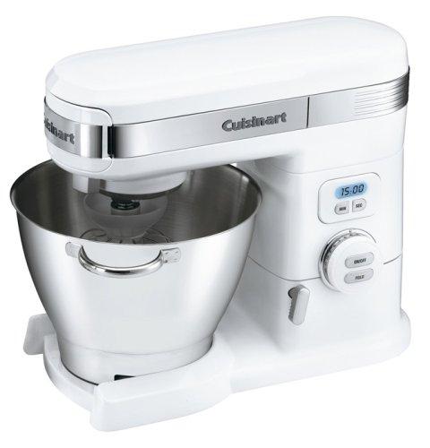 Cuisinart Sm-55 5-1/2-quart 12-speed Stand Mixer, White