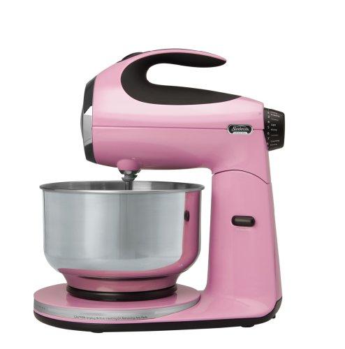 Sunbeam Fpsbsm210p Heritage Series 350-watt Stand Mixer, Pink Frosting
