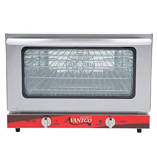 Avantco CO-16 Half Size Countertop Convection Oven 15 Cu Ft - 120V 1600W