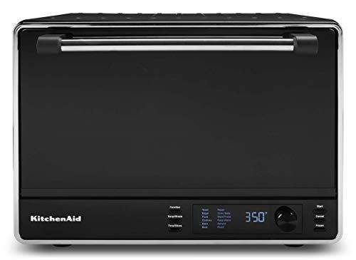 KitchenAid KCO255BM Dual Convection Countertop Toaster Oven99Cu Matte Black