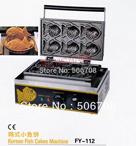 Electric Denmark Cookie Machine fish waffle maker Taiyaki machine