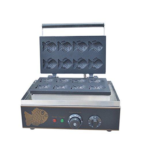 Hanchen Instrument FY-112-B Korea Fish Waffle Maker Cake Maker Electrothermal Snack Equipment Baking Machine Fish Taiyaki FY-112-B 110V