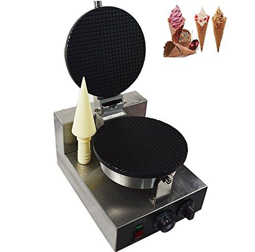 110V Single Head Electric Ice Cream Waffle Cone Maker Crepe Making Machine