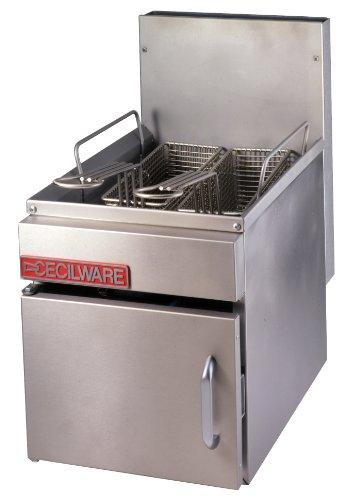 Grindmaster-Cecilware GF10-LP Countertop 10-Pound Liquid Propane Gas Fryer 26000 BTUsHour