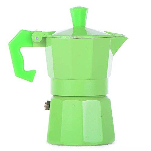 Michelle Queen 1 Cup 50ml Stovetop Espresso Moka Pot Green