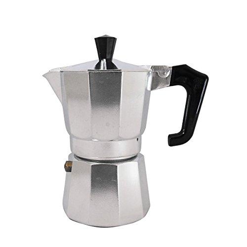 Pezzetti Stove-Top Moka Espresso Italian-Made Coffee Maker Moka Pot- 1236914 Cup 2 Cup