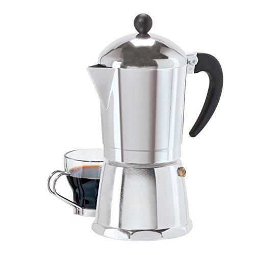 6 Cup Cast Aluminum Stovetop Espresso Maker 355 ML12 Oz