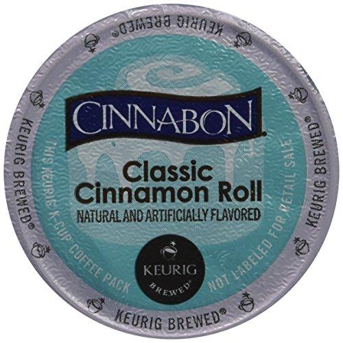Cinnabon Classic Cinnamon Roll K-Cup Coffee48 K-Cups