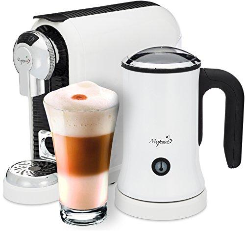 Latte Machine - Nespresso Compatible Capsules - By Mixpresso (white)