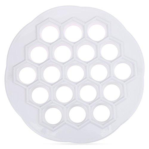 DIY Dumpling Mold Maker Pastry Tool 19 Holes Dough Press Ravioli Mould Eco-Friendly Kitchen Accessories