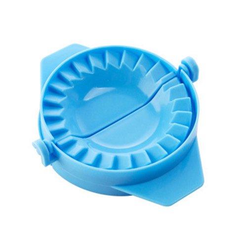 Dumpling Mould - SODIALR3PCS Pack dumpling machine Small tool Home plastic Dough Press Dumpling Pie Ravioli Mould blue