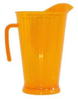 Orange Plastic Pitcher Dazzling Lights 60 oz
