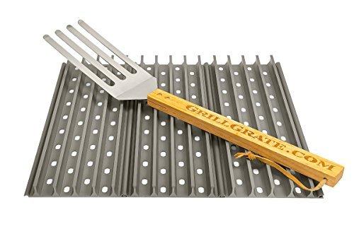 Set of Three 1375 GrillGrates interlocking  Grate Tool