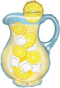 Single Source Party Supplies - 33 Lemonade Pitcher Shape Mylar Foil Balloon