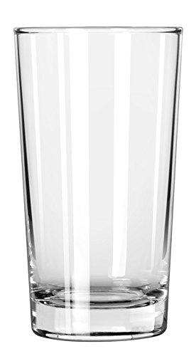 Libbey Glassware 132 Heavy Base Hi-Ball Glass 8 oz Pack of 48