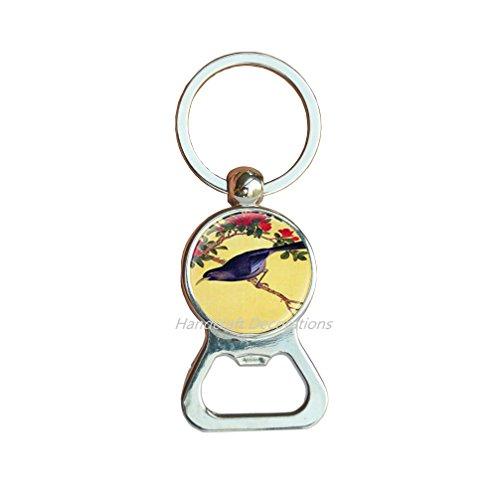 Bird Bottleopener KeychainChristmas gift-for-herBird Bottle opener Keychain bird jewellerybird lover giftanimal Bottle opener Keychainanimal jewelleryanimal lover giftF048