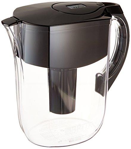 Brita Grand Water Filter Pitcher Black 10 Cup
