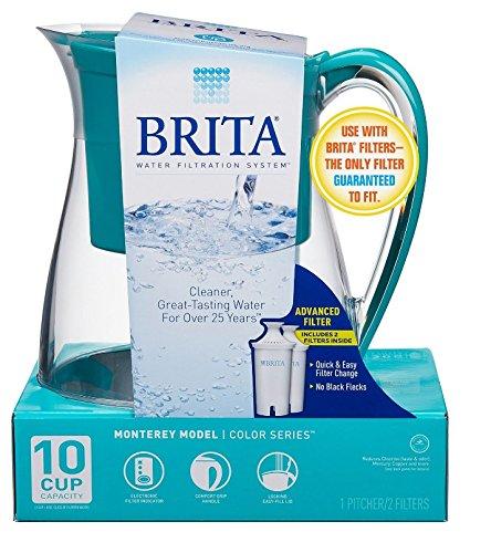 Brita Monterey Water Filter Pitcher 10 Cup- Teal