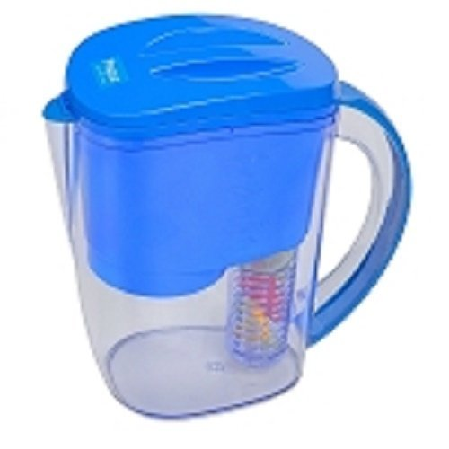 Propur Water Filter Pitcher with 1 ProOne-G 20 mini filter element  Removable Fruit Infuser