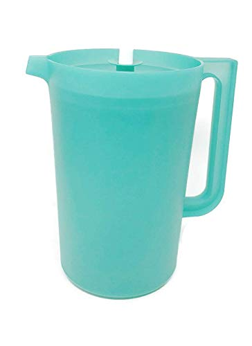 PITCHER 1 Gallon BLUE Pitcher with Push Button Seal