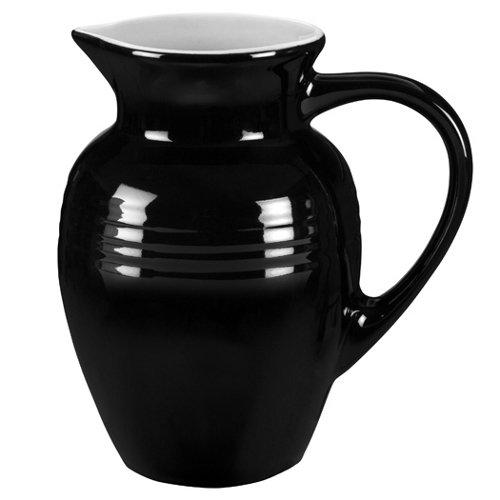 Le Creuset Stoneware 2-Quart Pitcher Black