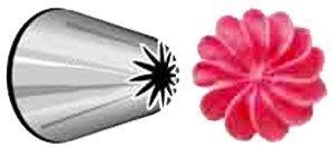 Wilton Decorating Drop Flower Icing Tip 1E