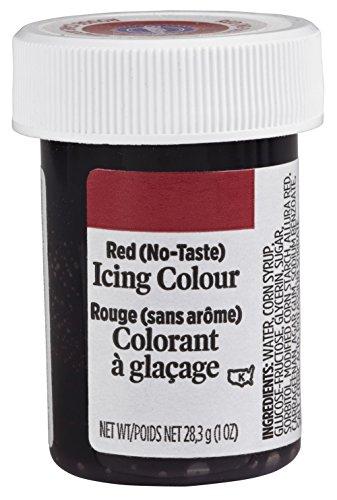 Wilton Icing 1 oz 610-998 Red No-Taste