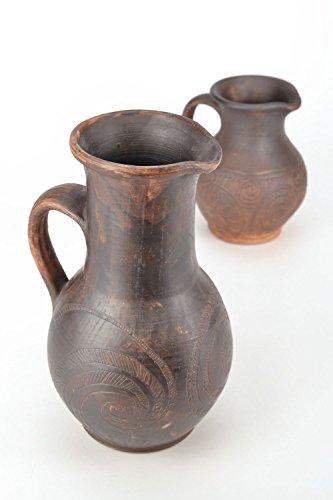 Ceramic Handmade Pitcher for Water Kitchen Design Ideas