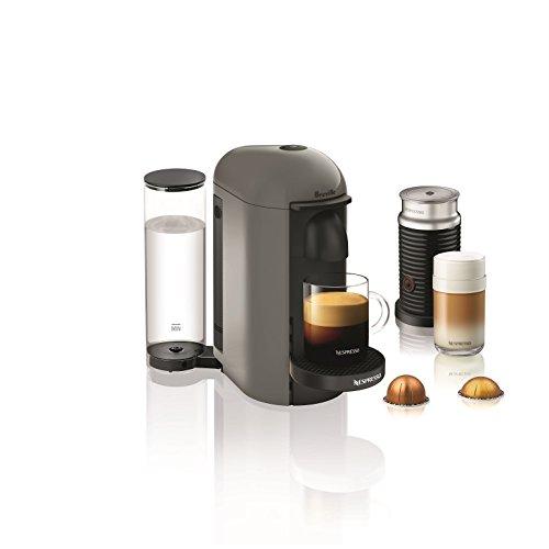Breville BNV450GRY1BUC1 VertuoPlus Coffee and Espresso Machine Grey