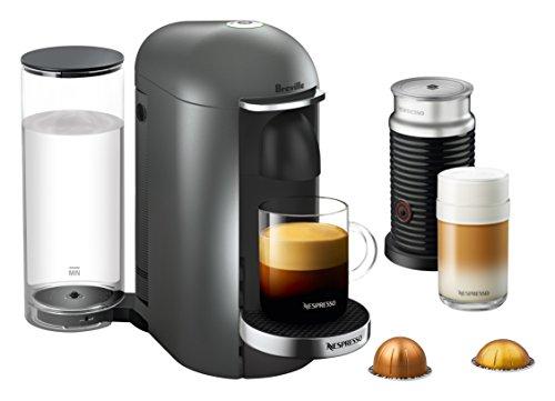 Breville-Nespresso USA BNV450TTN1BUC1 VertuoPlus Coffee and Espresso Machine Titan