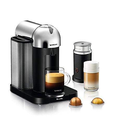 Breville Vertuo Coffee and Espresso Machine Chrome