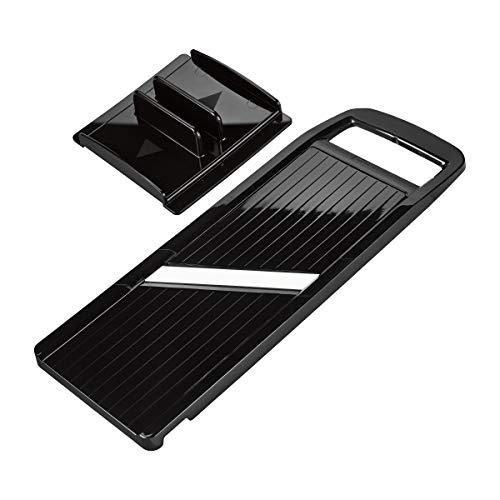 Kyocera Advanced Ceramic Wide Adjustable Slicer with Handguard Black