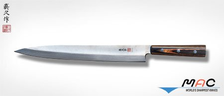 MAC Brand Left Handed Yanagiba Sushi Sashimi Knife 115 inch blade