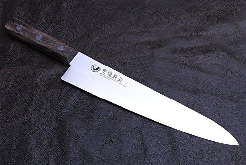 Yoshihiro Powdered Daisu Steel Stainless Gyuto Japanese Chef's Meat Knife 105 Inch