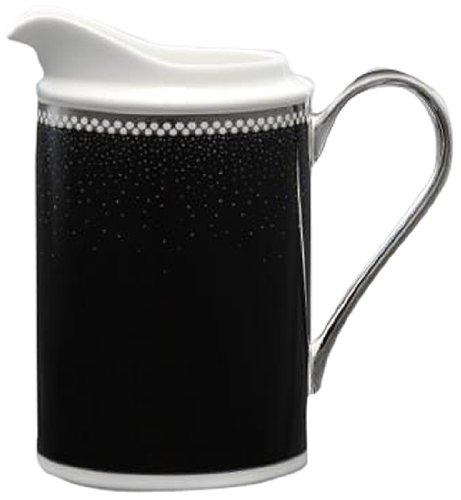 Noritake Pearl Noir Creamer Pitcher 8-Ounce