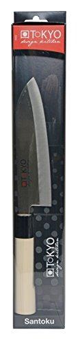 Sekizo 65 Inch Japanese Stainless Steel Santoku Knife