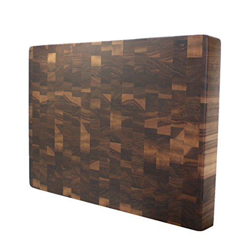 Kobi Blocks Walnut End Grain Butcher Block Wood Cutting Board 10 x 10 x 15