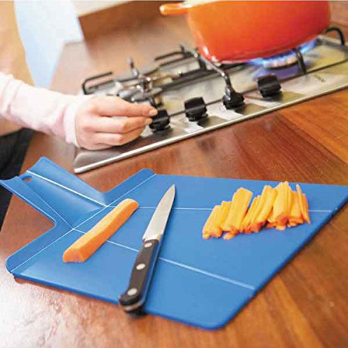 Bazaar Portable Plastic Foldable Chopping Board Cutting Block