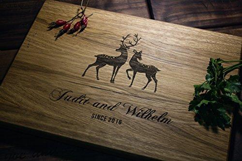 Dears Personalized Engraved Cutting Board- Wedding Gift Anniversary Gifts Housewarming GiftBirthday Gift Corporate Gift Award custom01