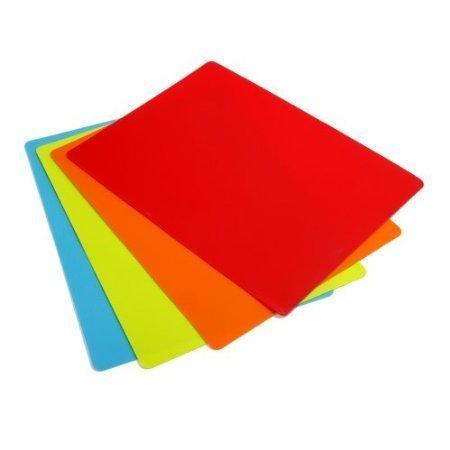 Chop Chop The Original Flexible Cutting Mat Set of 4 mats 115 x 15 by CounterArt