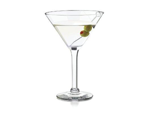Libbey 10-ounce Preston Martini Glass, Clear, 4-piece