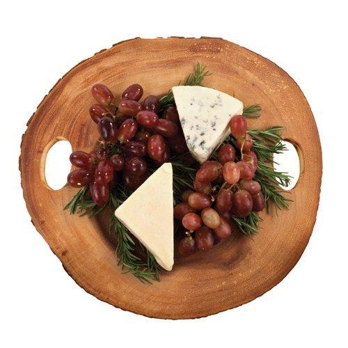 Rustic Cheese Board Farmhouse Small Serving Cutting Cheese Board Acacia Wood